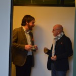 Lancering Academie voor de Ondernemer - Netwerken Edwin en Paul