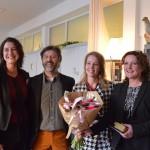 Lancering Academie voor de Ondernemer - Oprichters Saskia, Jan, Yvonne en Dorine