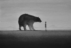Beren op de weg - blog Linda Kwast
